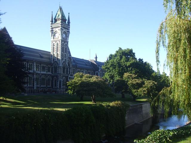 Otago University Clocktower Building